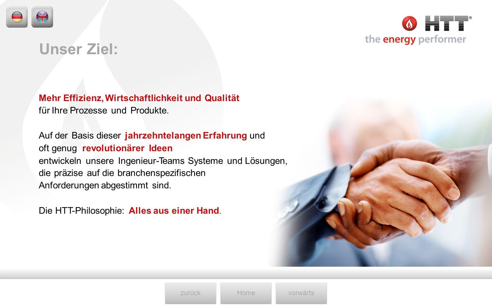 Unser Ziel: Mehr Effizienz, Wirtschaftlichkeit und Qualität