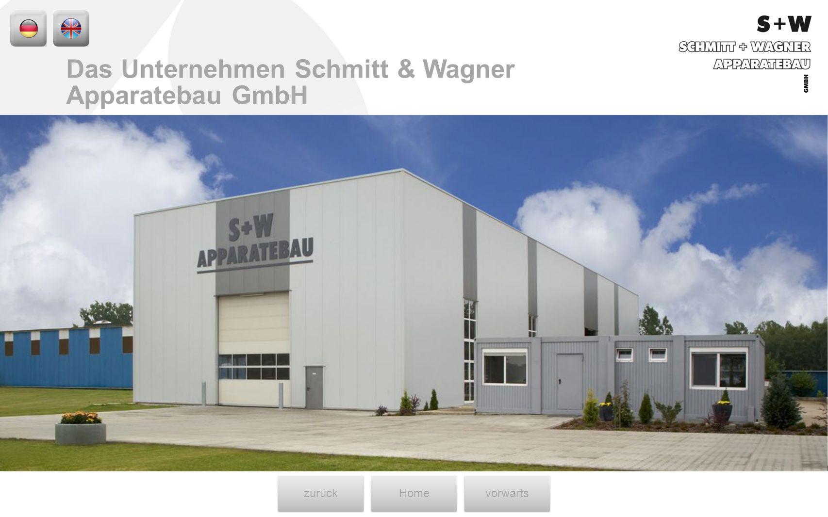 Das Unternehmen Schmitt & Wagner Apparatebau GmbH