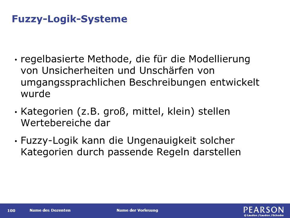 Abbildung von unscharfen Beschreibungen in Fuzzy-Logik-Regeln
