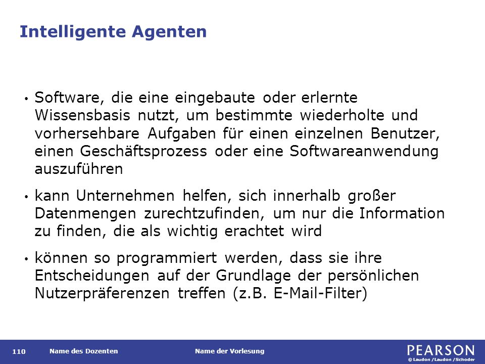 Intelligente Agenten in P&Gs Supply-Chain-Netzwerk