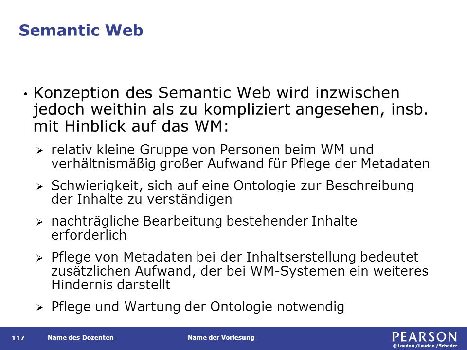 Die Semantic-Web-Diskussion