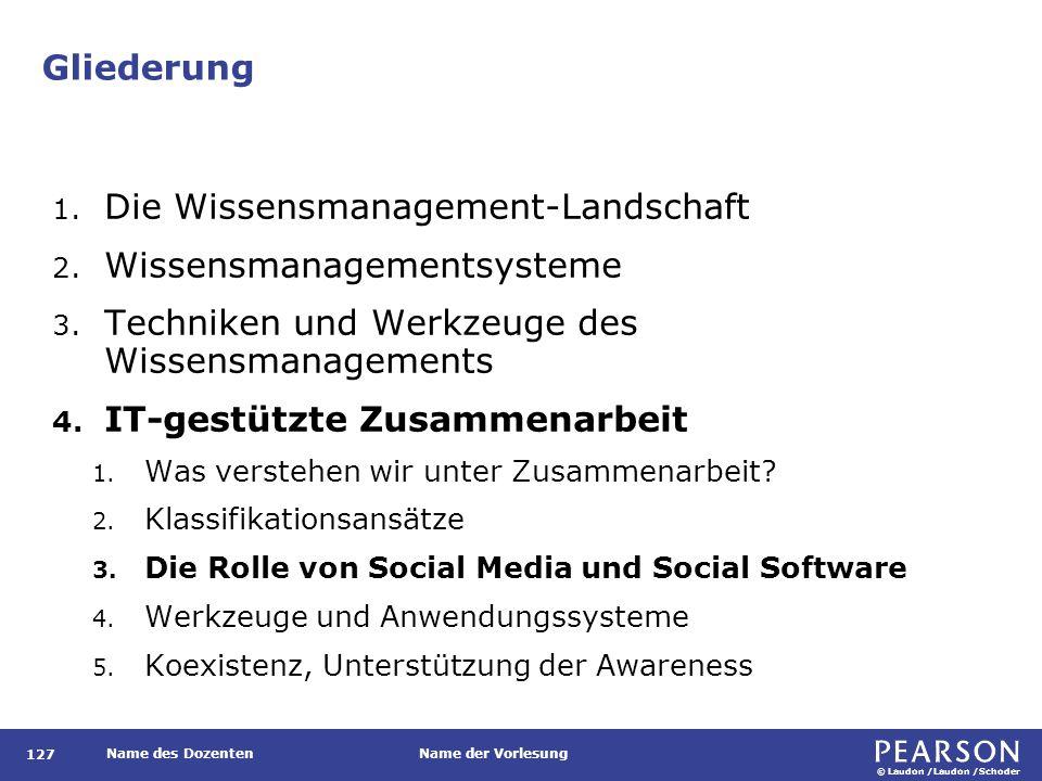 Die Rolle von Social Media und Social Software