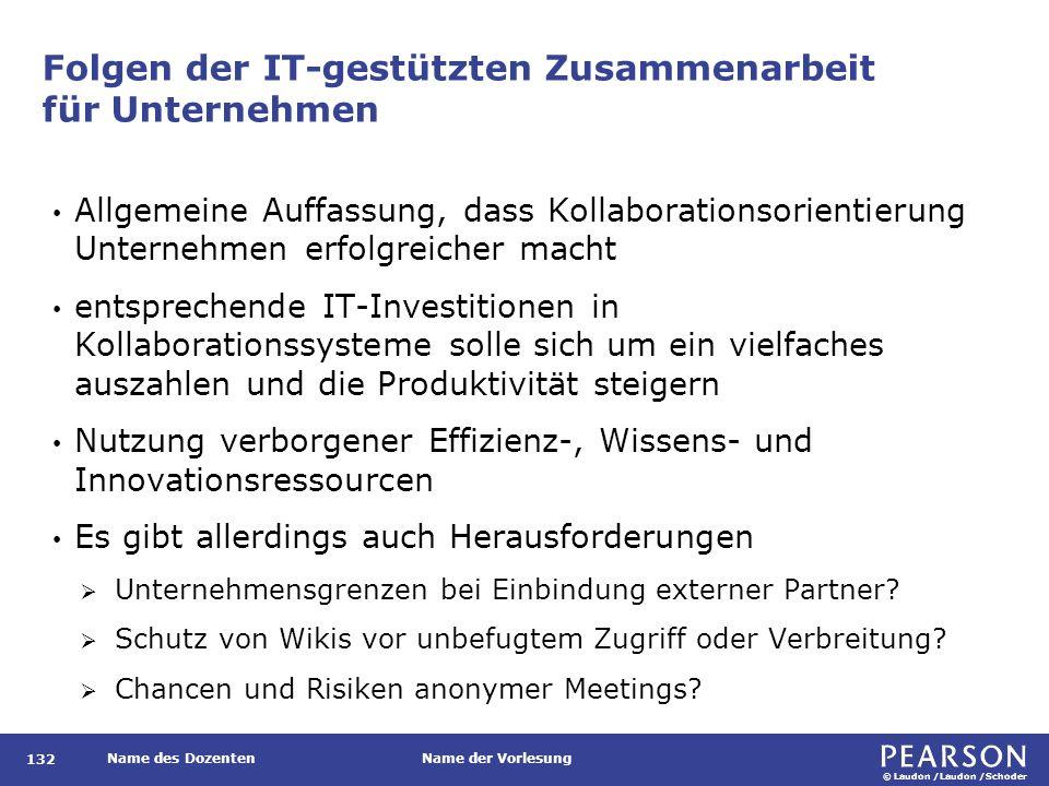 Vorteile IT-gestützter Zusammenarbeit für Unternehmen
