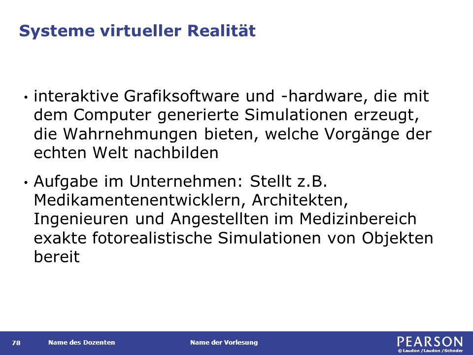 Systeme erweiterter Realität (Augmented Reality)