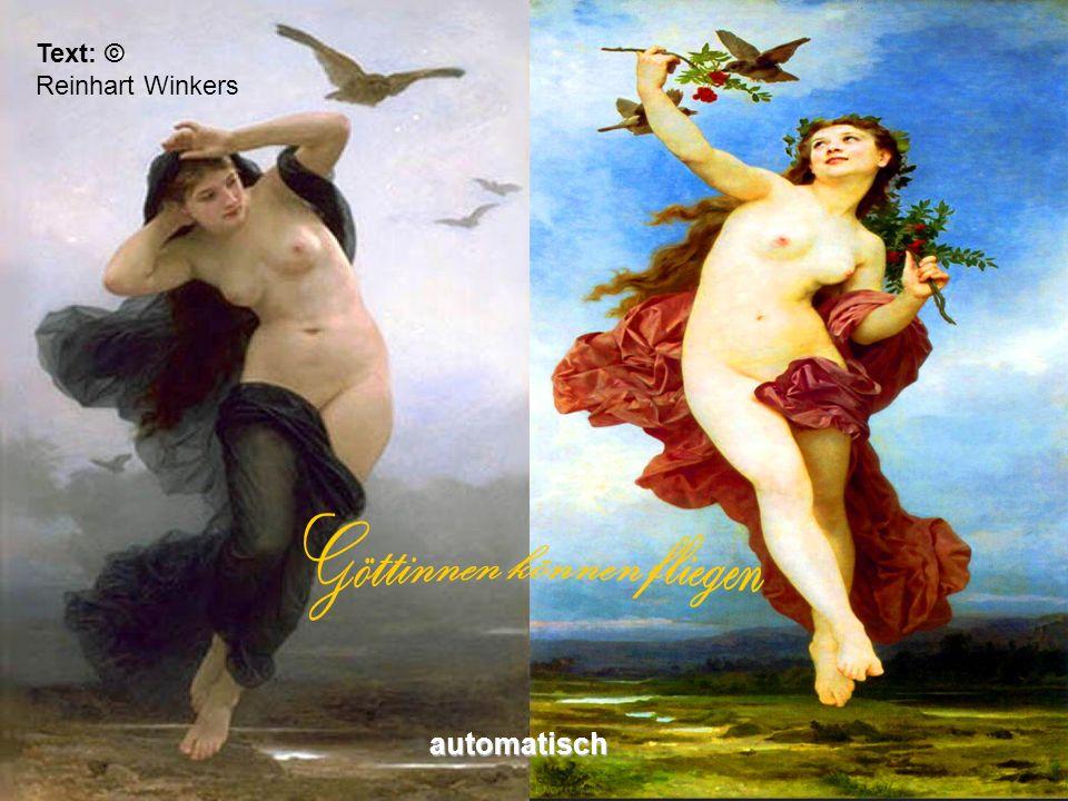 Göttinnen können fliegen
