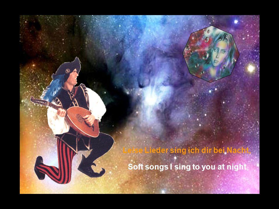 Leise Lieder sing ich dir bei Nacht,