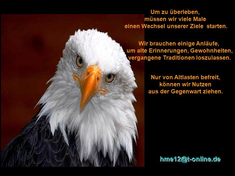 hme12@t-online.de Um zu überleben, müssen wir viele Male