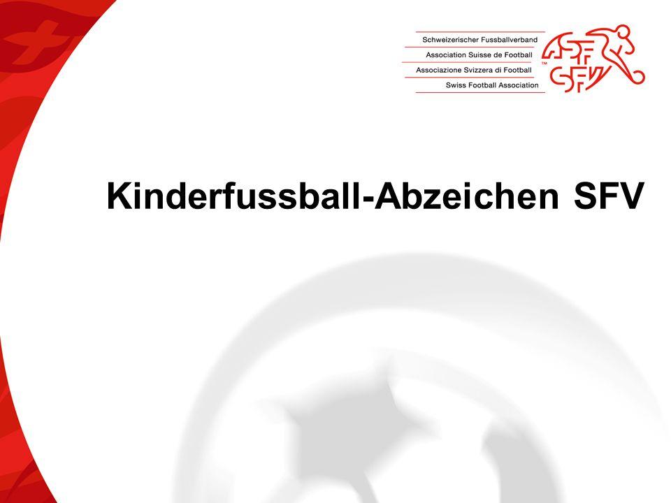Kinderfussball-Abzeichen SFV