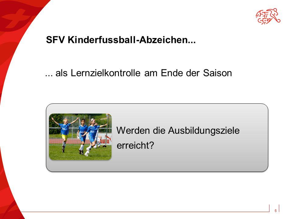SFV Kinderfussball-Abzeichen...