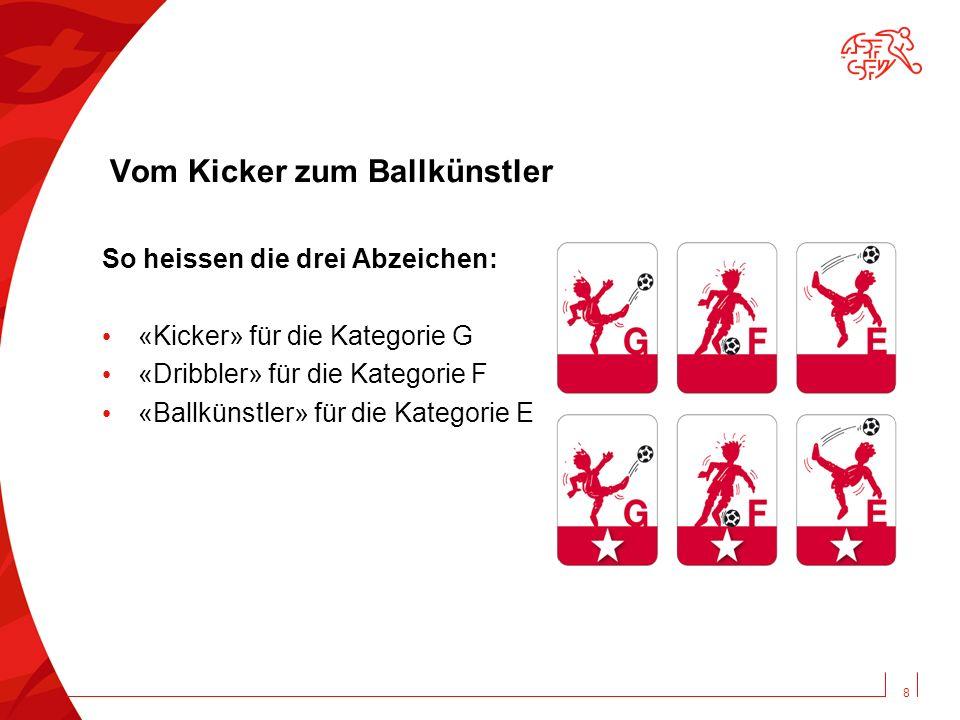 Vom Kicker zum Ballkünstler