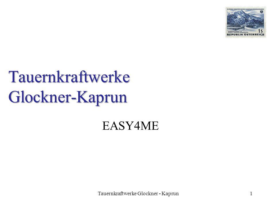 Tauernkraftwerke Glockner-Kaprun