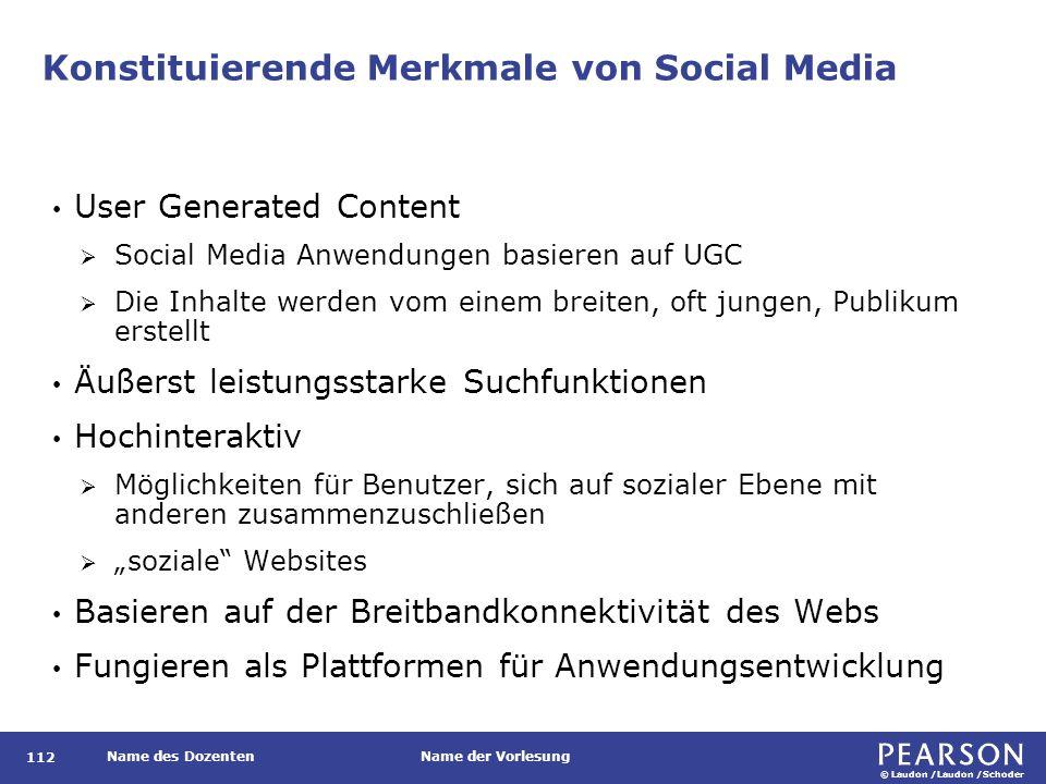 Soziale Technologie: Benutzergenerierte Inhalte und soziale Netze