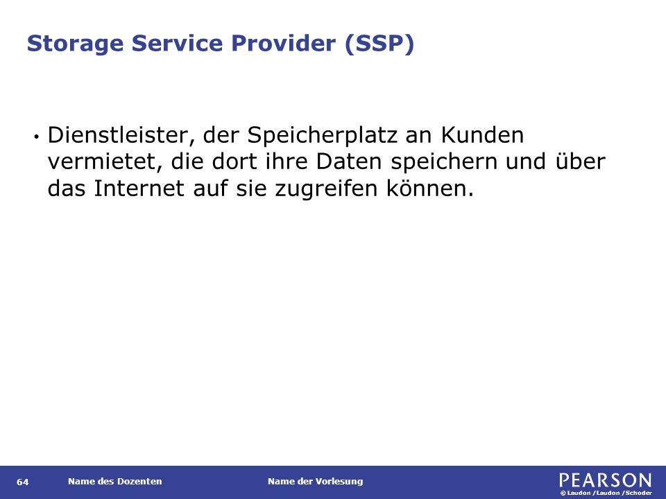 Application Service Provider (ASP)