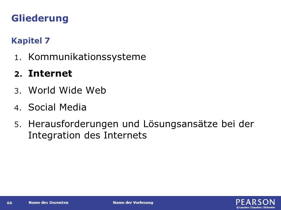 Das Internet Das Internet verbindet Tausende einzelner, voneinander unabhängiger Netzwerke auf der gesamten Welt.