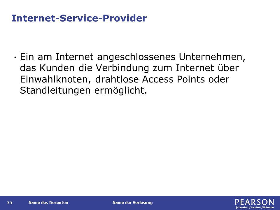 Internetarchitektur Abbildung 7.14