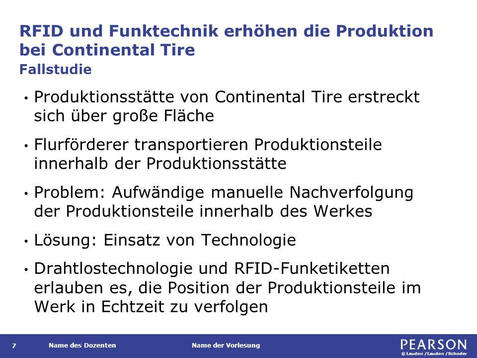 RFID und Funktechnik erhöhen die Produktion bei Continental Tire