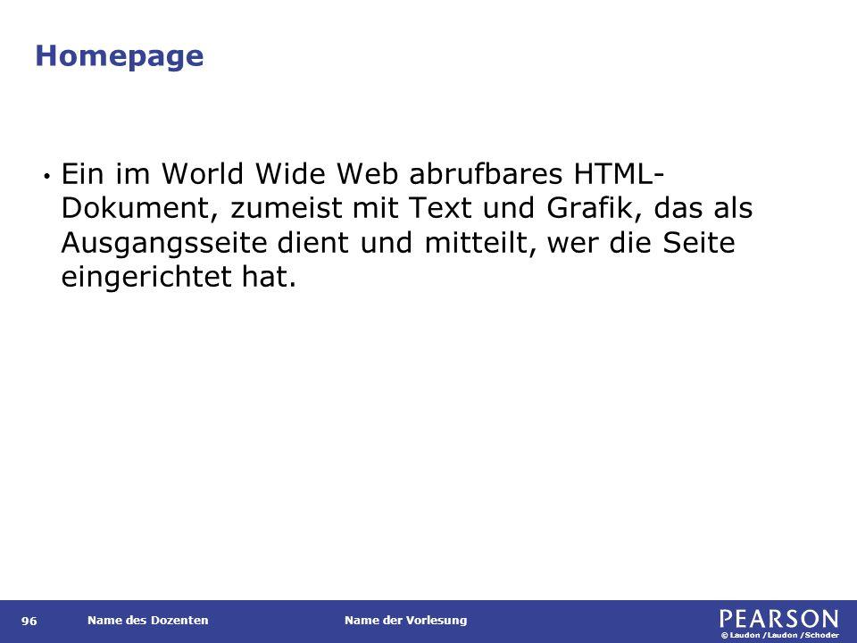 Website Die Gesamtheit aller von einem Unternehmen oder Teilnehmer im Internet unter einer Domäne bereitgestellten Seiten.