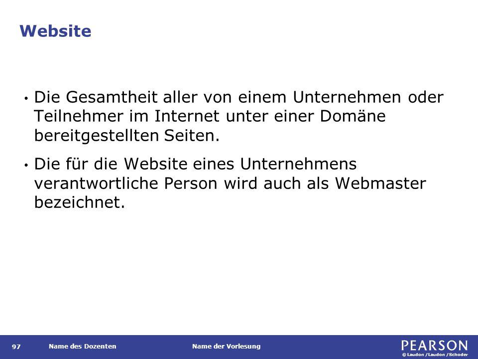 Zentrale Konzepte URI/URL und HTTP