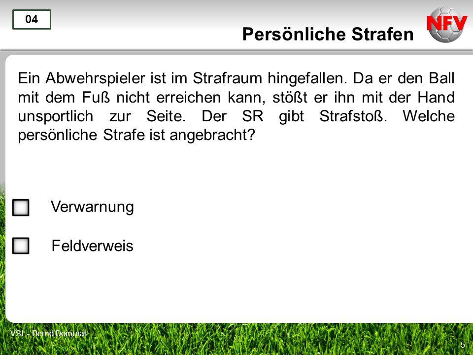 Persönliche Strafen 04.