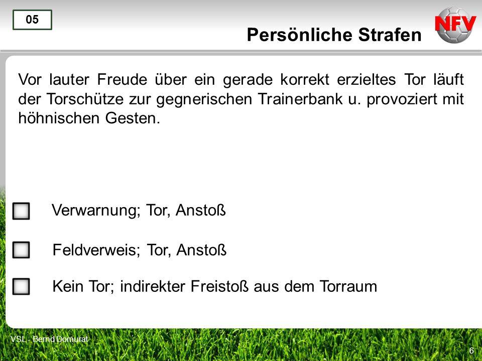 Persönliche Strafen 05.