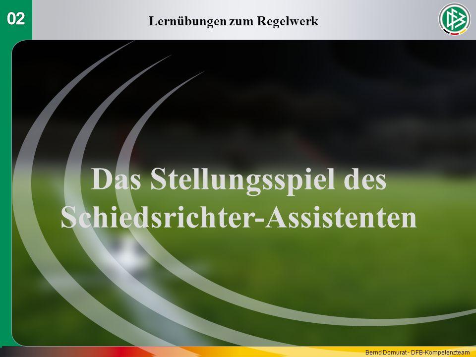 Das Stellungsspiel des Schiedsrichter-Assistenten