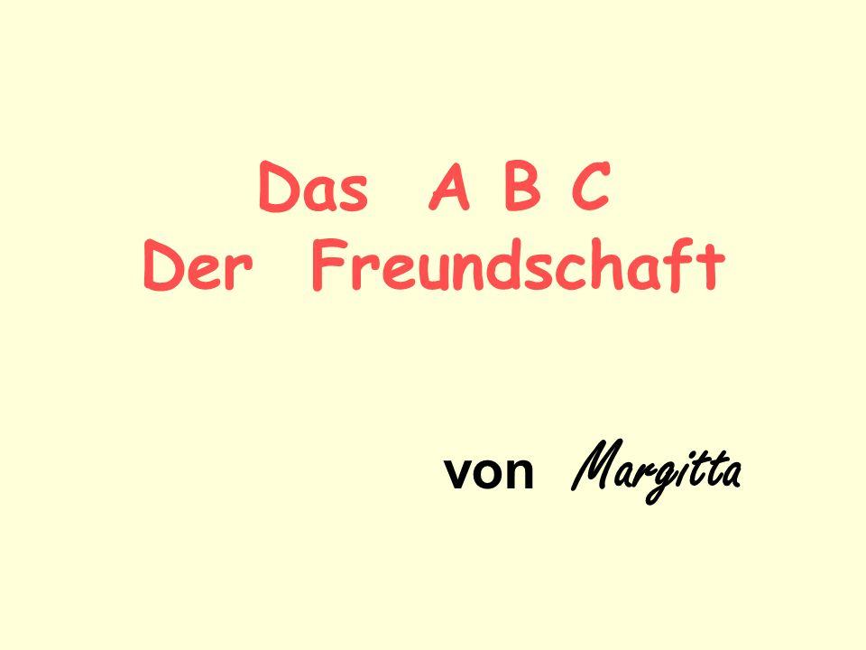 Das A B C Der Freundschaft