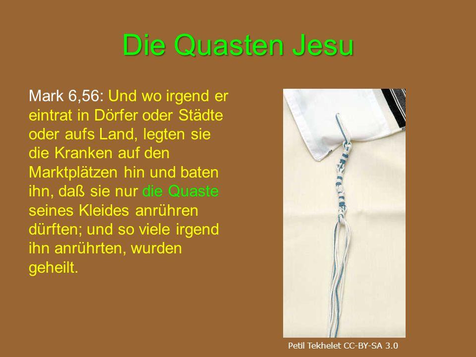 Die Quasten Jesu