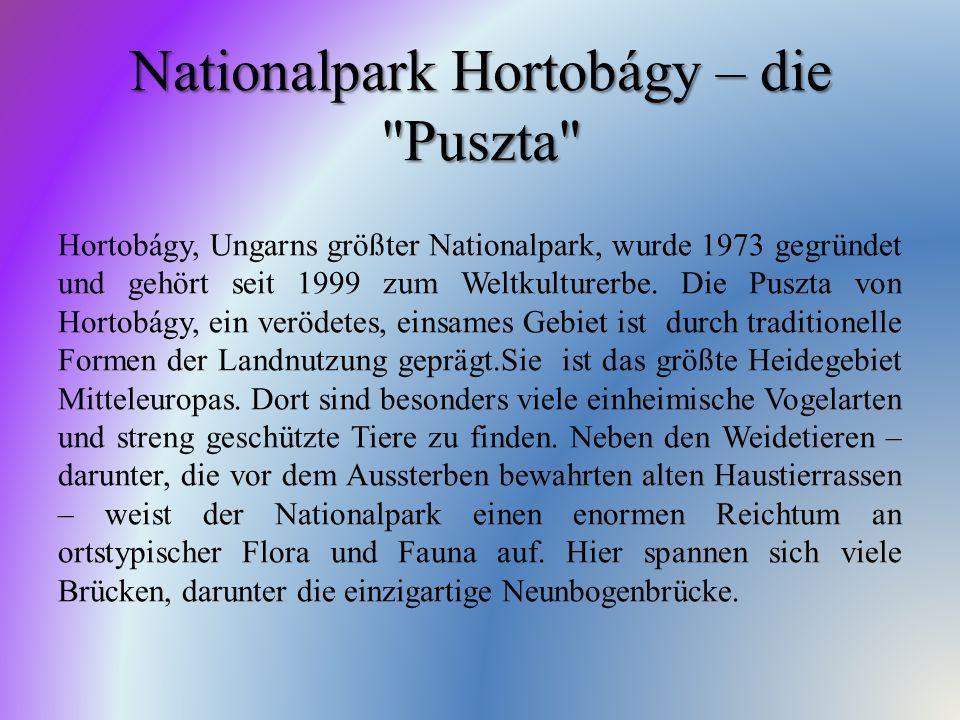 Nationalpark Hortobágy – die Puszta