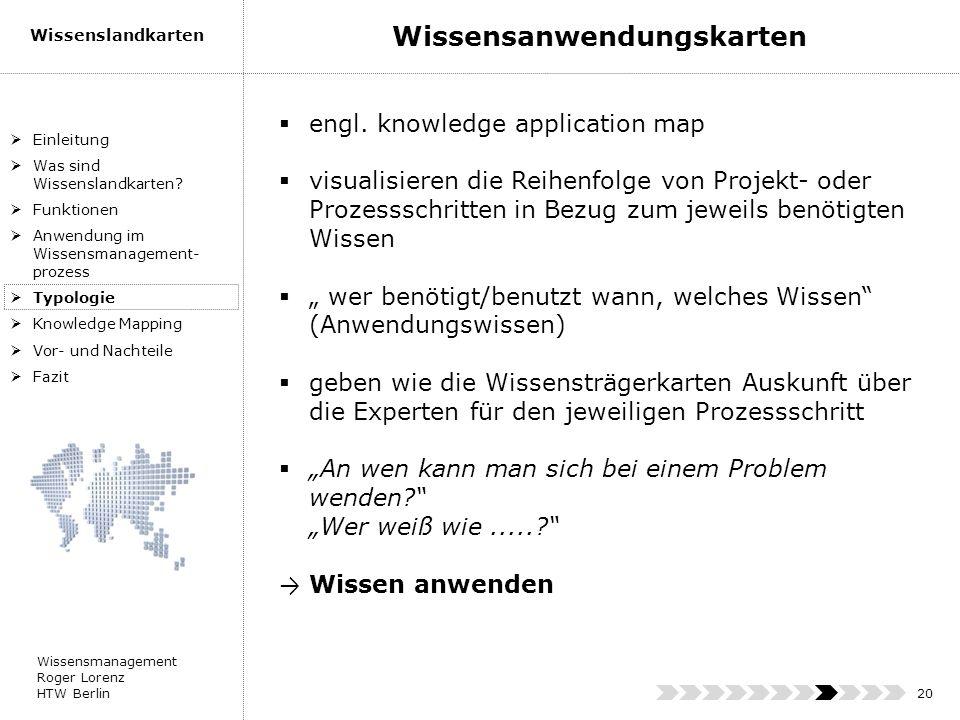 Wissensanwendungskarten