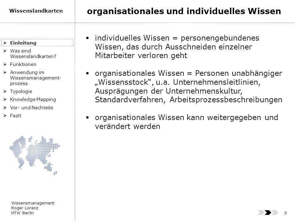 organisationales und individuelles Wissen