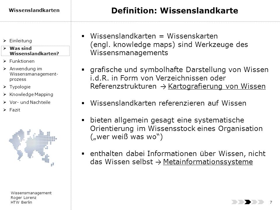 Definition: Wissenslandkarte
