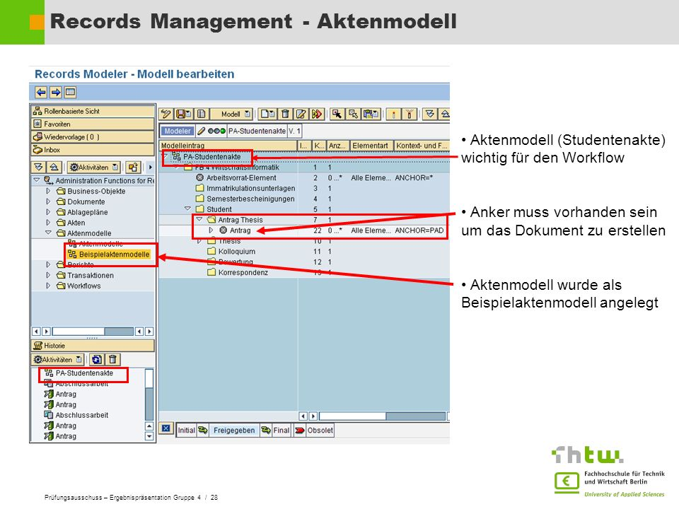 Records Management - Aktenmodell