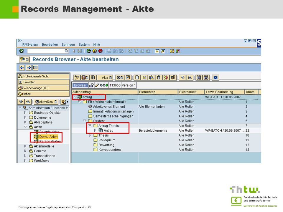 Records Management - Akte
