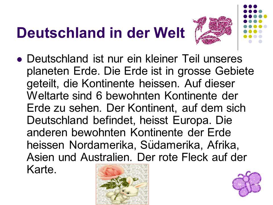 Deutschland in der Welt