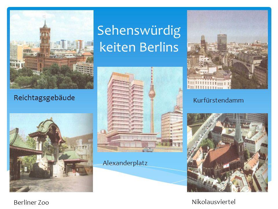Sehenswürdigkeiten Berlins