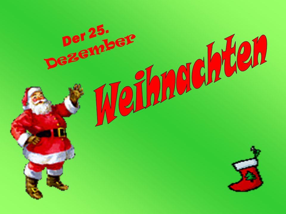 Weihnachten Der 25. Dezember