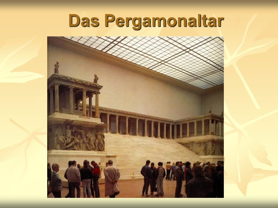 Das Pergamonaltar