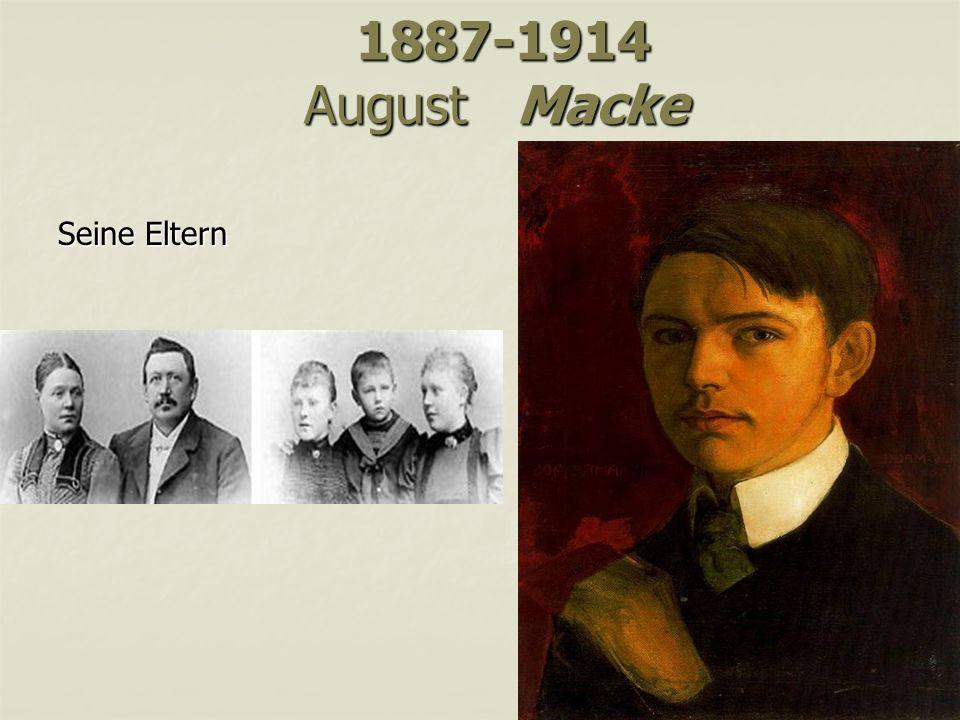 1887-1914 August Macke Seine Eltern