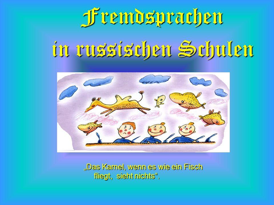 Fremdsprachen in russischen Schulen