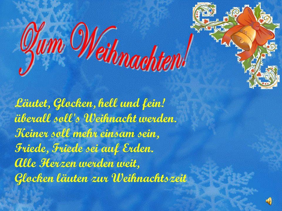 Zum Weihnachten!