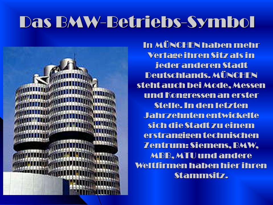 Das BMW-Betriebs-Symbol
