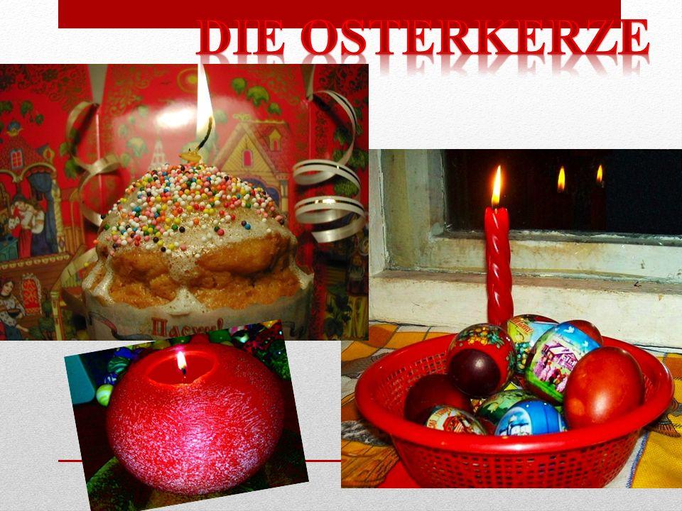 Die Osterkerze