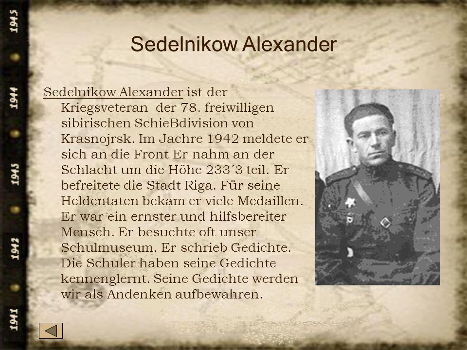 Sedelnikow Alexander