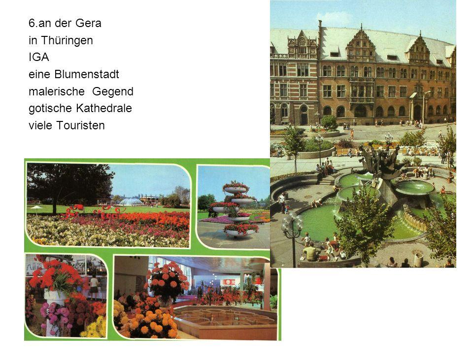 6.an der Gera in Thüringen. IGA. eine Blumenstadt.
