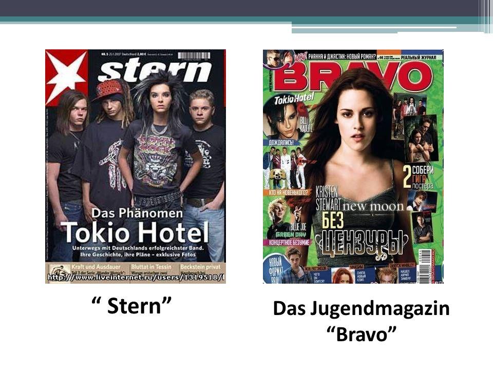 Das Jugendmagazin Bravo