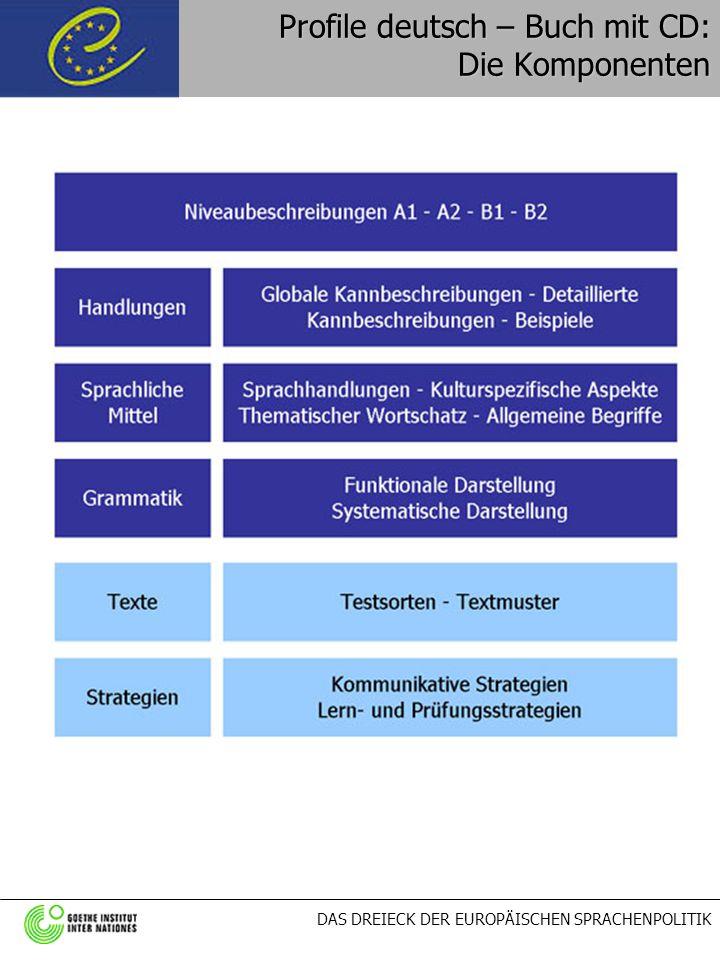 Profile deutsch – Buch mit CD: Die Komponenten
