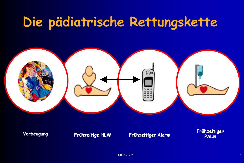 Die pädiatrische Rettungskette