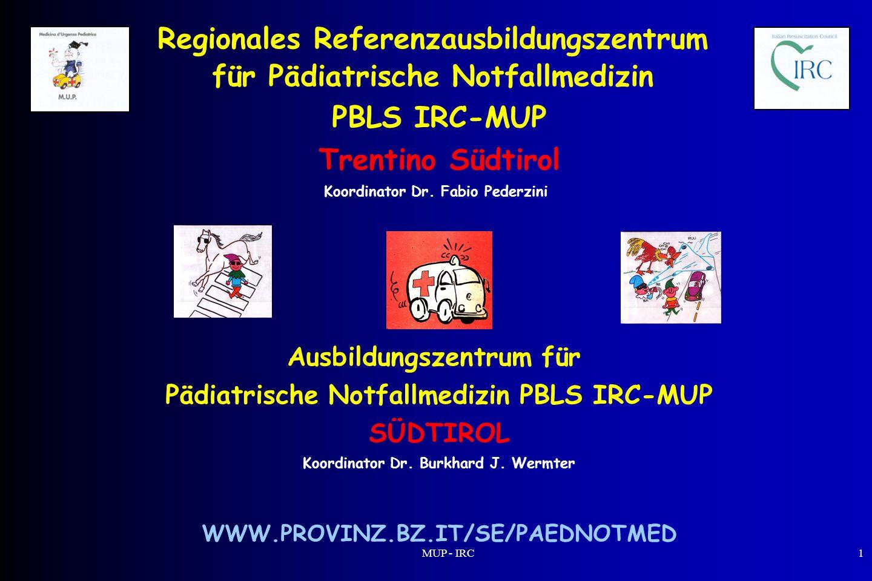 Regionales Referenzausbildungszentrum für Pädiatrische Notfallmedizin