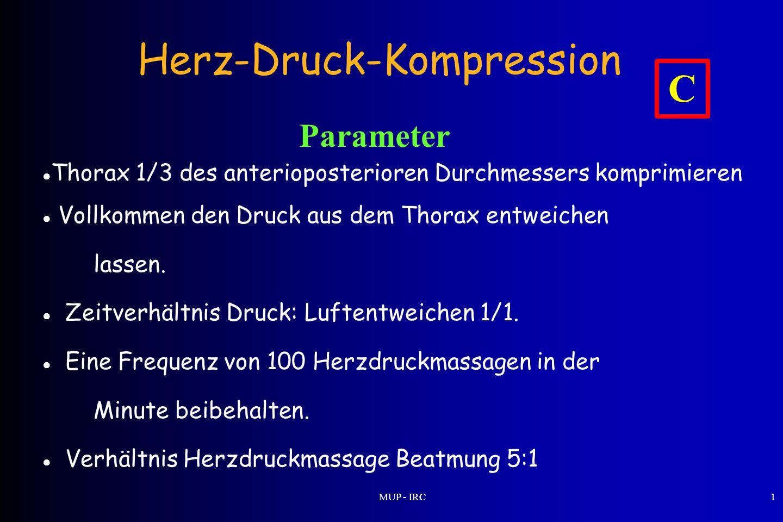 Herz-Druck-Kompression