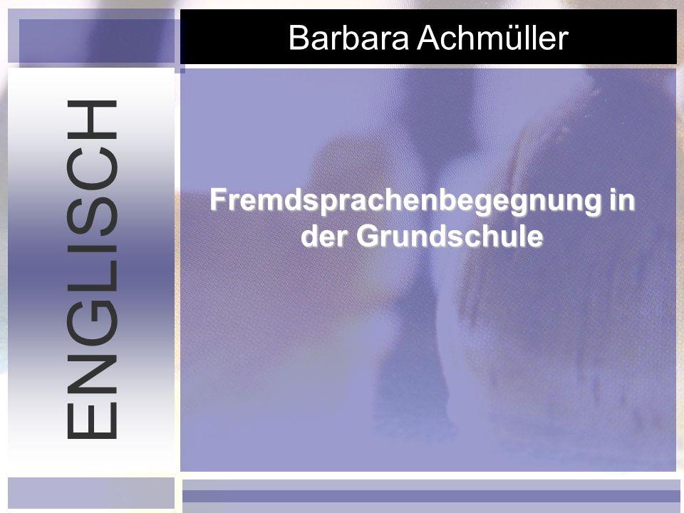 DSB - Abschlussarbeit 17.04.2007 ENGLISCH Elisabeth Kaufmann